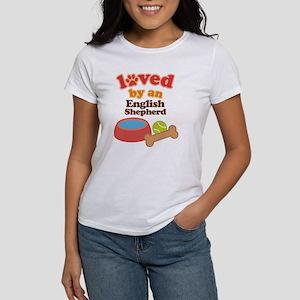 English Shepherd Dog Gift Women's T-Shirt