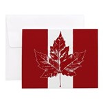 Cool Canada Flag Notecards (Set of 10)
