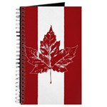 Cool Canada Flag Journal