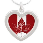 Cool Canada Flag Necklaces