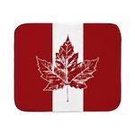 Cool Canada Flag Sherpa Fleece Throw Blanket