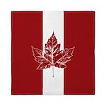 Cool Canada Flag Queen Duvet