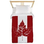 Cool Canada Flag Twin Duvet Cover