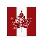 Cool Canada Flag Sticker (Square 50 pk)