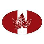 Cool Canada Flag Sticker