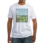 Bonehenge Fitted T-Shirt