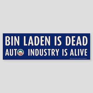 Navy Bin Laden is Dead Sticker (Bumper)