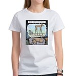 When Dachshunds dream Women's T-Shirt