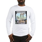 When Dachshunds dream Long Sleeve T-Shirt
