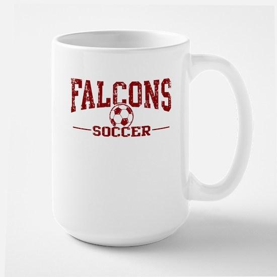 Falcons Soccer Large Mug