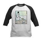 SnowDog Doo-doo Kids Baseball Jersey