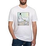 SnowDog Doo-doo Fitted T-Shirt
