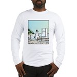 Frosty arriving Home Long Sleeve T-Shirt