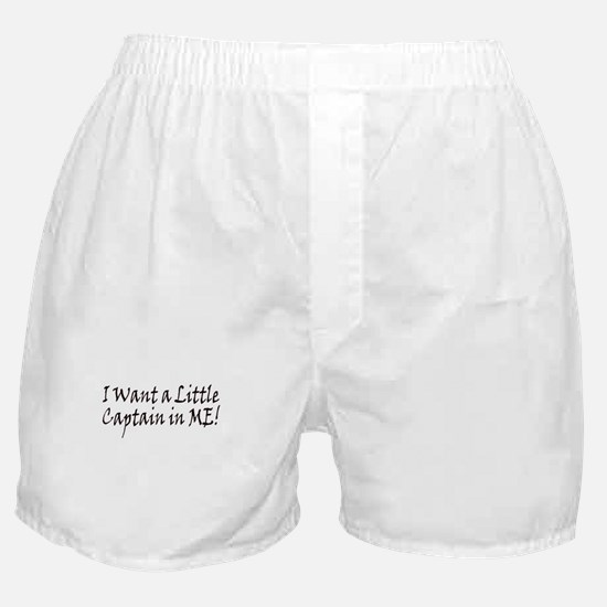 Captain in Me Boxer Shorts