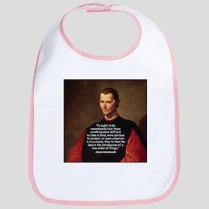Machiavelli Lead Quote Bib