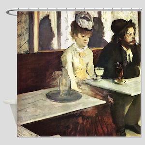 Edgar Degas Absinthe Shower Curtain
