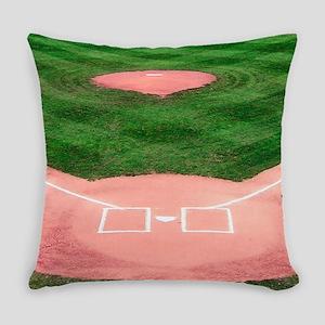 Baseball Diamond Everyday Pillow