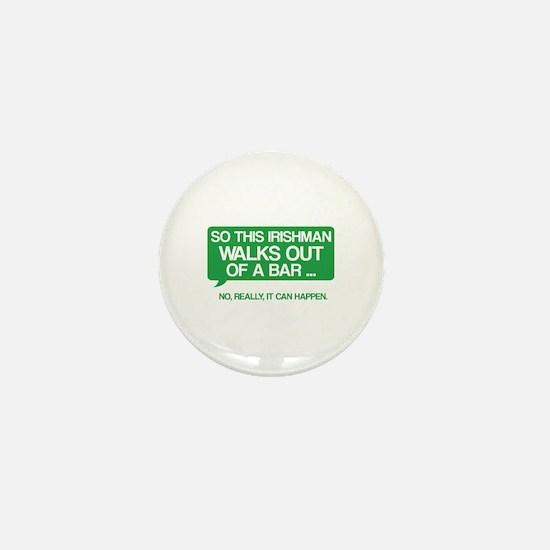 Irishman Mini Button