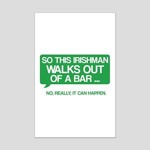 Irishman Mini Poster Print