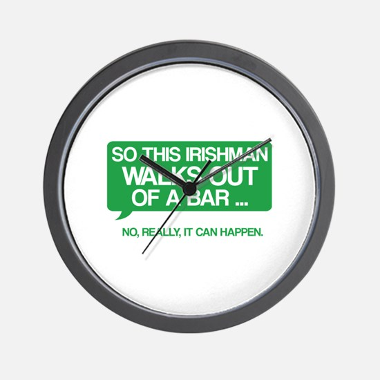 Irishman Wall Clock