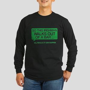 Irishman Long Sleeve Dark T-Shirt