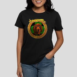 Irish Setter Dog Breed Women's Dark T-Shirt