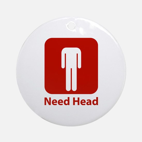 Need Head Ornament (Round)