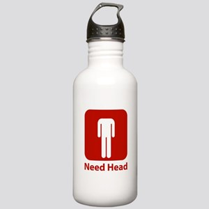 Need Head Stainless Water Bottle 1.0L