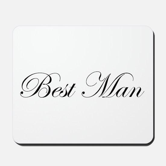 Best Man.png Mousepad