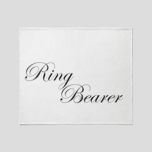 Ring Bearer Throw Blanket