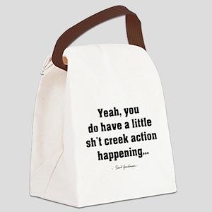 'Sh*t Creek' Canvas Lunch Bag
