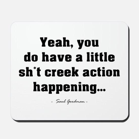 'Sh*t Creek' Mousepad