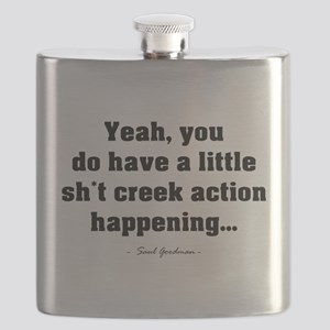 'Sh*t Creek' Flask