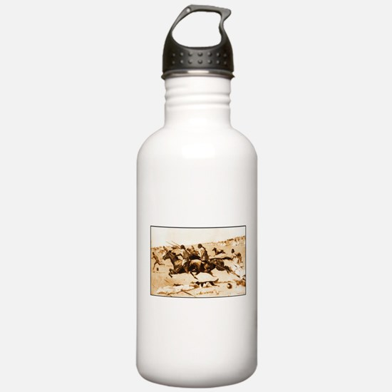 Indian Village Routed, 1898.jpg Water Bottle