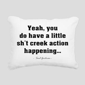 'Sh*t Creek' Rectangular Canvas Pillow