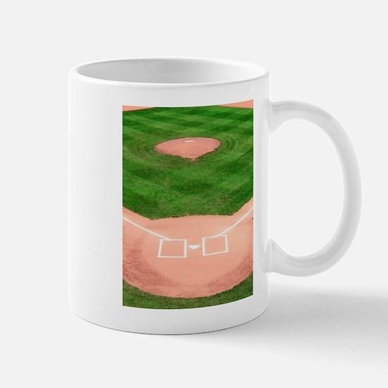 Baseball Diamond Mugs