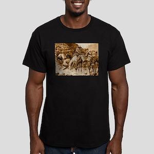Mule Train Crossing the Sierras, 1888 Men's Fi