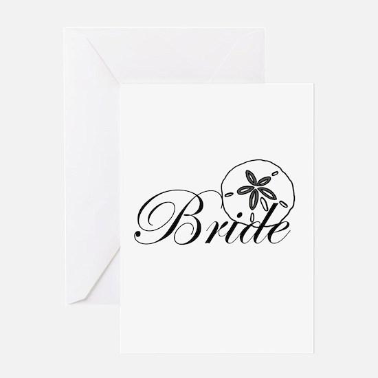 Sand Dollar Bride.png Greeting Card