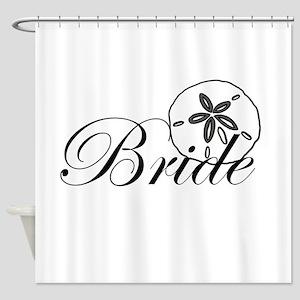 Sand Dollar Bride Shower Curtain