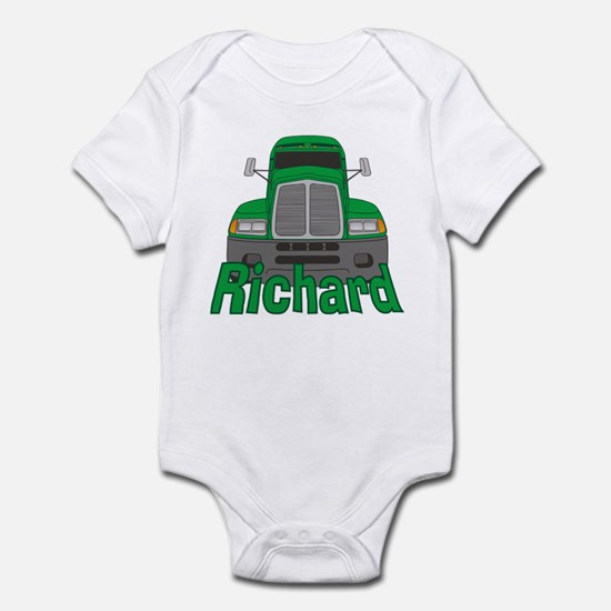 Trucker Richard Infant Bodysuit