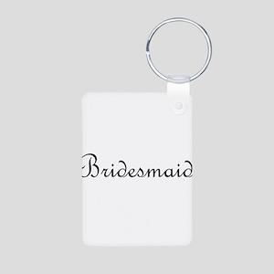 Bridesmaid Aluminum Photo Keychain