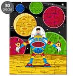 Astronaut & Mecha Robot Puzzle