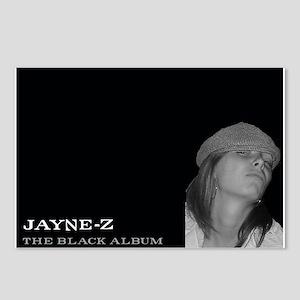 Jayne-Z Postcards (Package of 8)