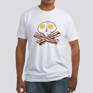 Bacon Eggs Fitted T-Shirt