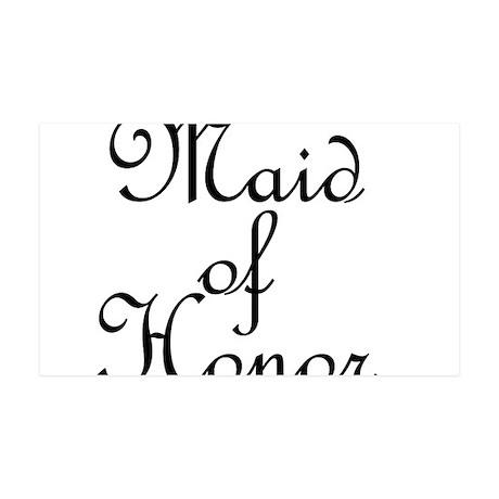 Maid of Honor 38.5 x 24.5 Wall Peel