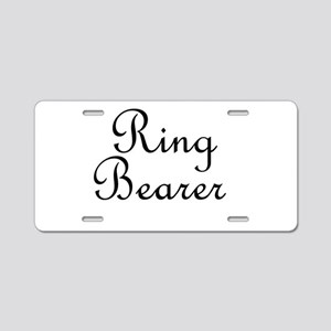 Ring Bearer Aluminum License Plate