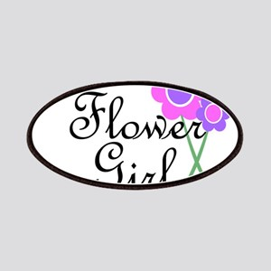 Purple Daisy Flower Girl Patches