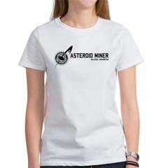 Asteroid_Miners_NEO_w.png Women's T-Shirt