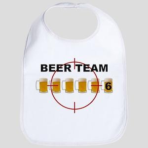 Beer Team 6 Logo Bib