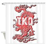 Taekwondo Dragon Shower Curtain